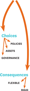 business model comprises choices and consequences